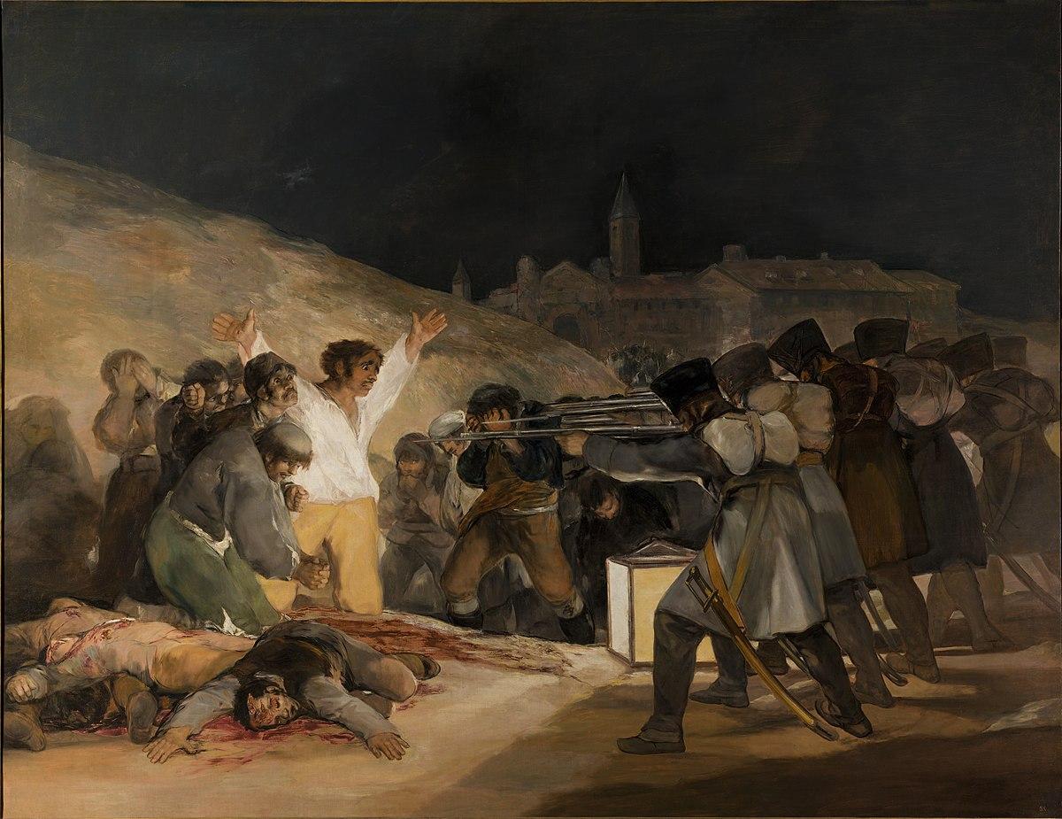 Woman in Goya